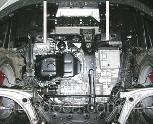 Защита двигателя Mitsubishi Lancer Evolution X - фото №5