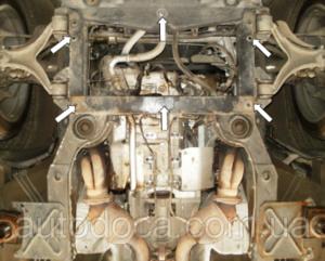 Защита двигателя Maserati Quattroporte - фото №7