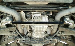 Защита двигателя Maserati Quattroporte - фото №5