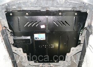 Защита двигателя Mazda 5 - фото №4