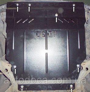 Защита двигателя Mazda 323 BJ - фото №3