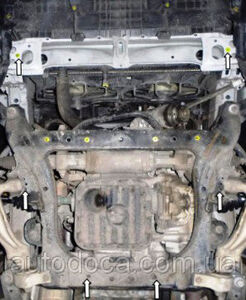 Захист двигуна Lexus GS 300 - фото №8