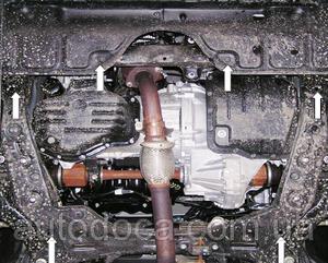 Защита двигателя Toyota Camry 30 - фото №6