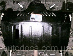 Защита двигателя Toyota Camry 30 - фото №5