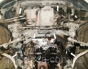 Защита двигателя Skoda Superb 1 - фото №4