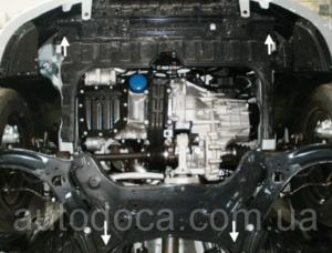 Защита двигателя Kia Rio 3 - фото №3