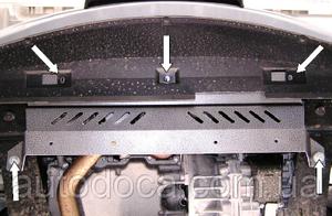 Защита двигателя Jaguar X-Type AWD V6 - фото №6