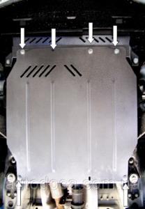 Защита двигателя Jaguar X-Type AWD V6 - фото №7