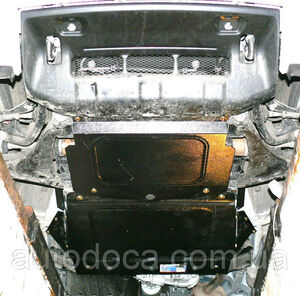 Защита двигателя Mitsubishi Pajero Wagon - фото №6