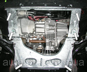 Защита двигателя Renault Megane 2 - фото №8