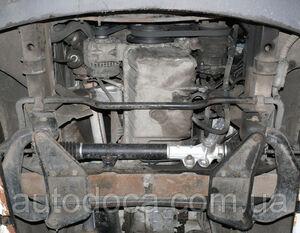 Защита двигателя Mercedes-Benz Sprinter W906 рестайлинг - фото №7