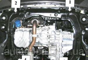 Защита двигателя Kia Sportage 2 - фото №4