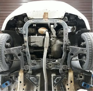 Защита двигателя Opel Astra G - фото №4