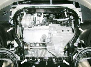 Защита двигателя Volkswagen T5 / T6 / Transporter / Multivan / Caravelle - фото №4