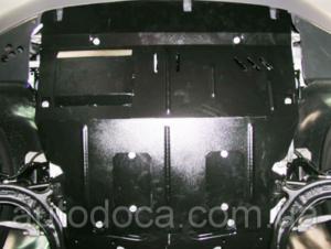 Защита двигателя Volkswagen T5 / T6 / Transporter / Multivan / Caravelle - фото №3