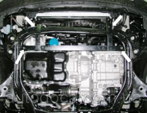 Защита двигателя Kia Magentis 2 - фото №6
