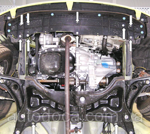 Защита двигателя Toyota Aygo 1 - фото №4