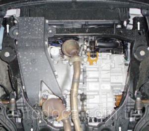 Защита двигателя Ford Explorer 5 - фото №5