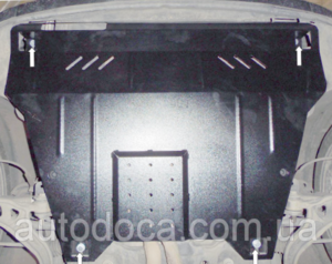 Захист двигуна Ford Explorer 5 - фото №4