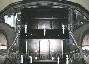 Защита двигателя Ford Mustang 5 - фото №2