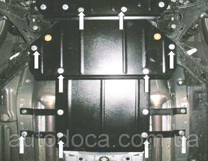 Защита двигателя Ford Mustang 5 - фото №3