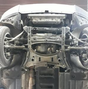 Захист двигуна BMW X3 F25 - фото №6