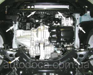 Защита двигателя Kia Sportage 3 - фото №10