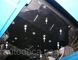 Защита двигателя Kia Sportage 3 - фото №9