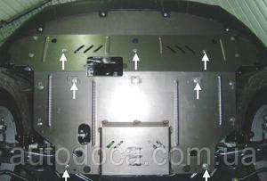 Защита двигателя Kia Sportage 3 - фото №8
