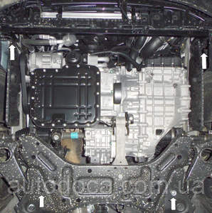 Захист двигуна Kia Sorento 2 - фото №11