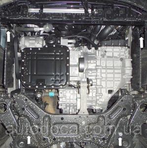Защита двигателя Kia Sorento 2 - фото №11
