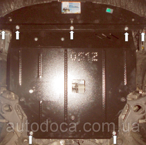 Захист двигуна Kia Sorento 2 - фото №10