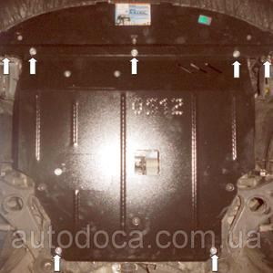 Защита двигателя Kia Sorento 2 - фото №10