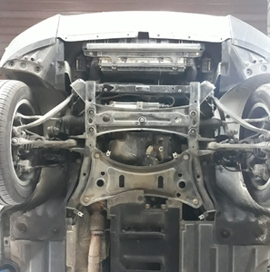 Захист двигуна BMW X4 F26 - фото №4