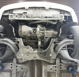 Захист двигуна Renault Kangoo 2 - фото №4