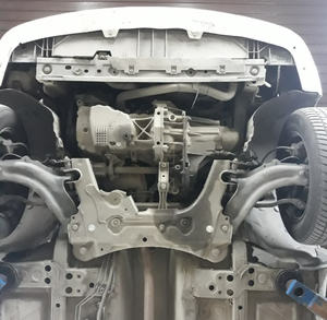 Защита двигателя Renault Kangoo 2 - фото №3