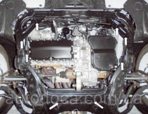 Защита двигателя Faw Besturn B50 - фото №4