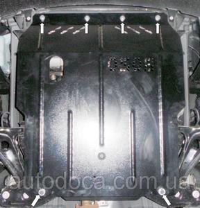 Защита двигателя Faw V5 - фото №3