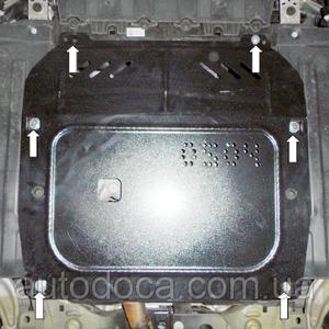 Защита двигателя Opel Astra J - фото №4