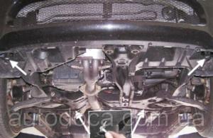 Защита двигателя Mitsubishi Grandis - фото №5