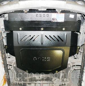 Защита двигателя Peugeot 307 - фото №5
