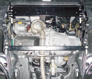 Защита двигателя Citroen C-Elysee - фото №3