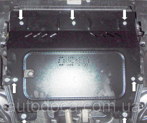 Захист двигуна Peugeot 301 - фото №4