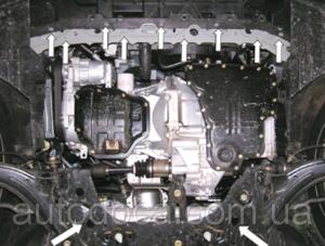 Защита двигателя Nissan Tiida (Versa) - фото №6