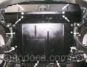 Захист двигуна Hyundai Santa Fe 3 - фото №8