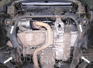 Защита двигателя Chevrolet Captiva - фото №4