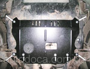 Защита двигателя Chevrolet Captiva - фото №3