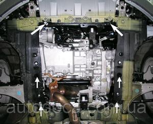 Защита двигателя Opel Insignia A - фото №10