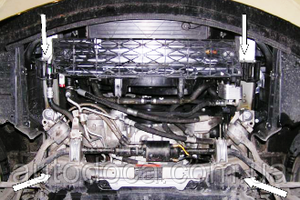Защита двигателя BMW 5 E60 E61 - фото №4