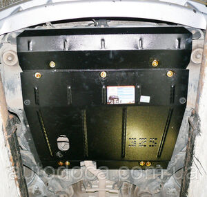 Защита двигателя Hyundai Trajet - фото №3